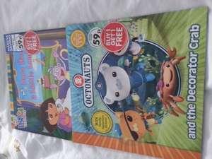 Octonauts books 59p - 99p BOGOF - The Works instore