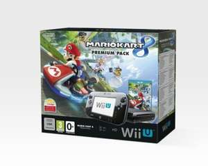 Wii U Premium Pack & Mario Kart 8 bundle - £199 at Tesco with code (and extra free game download with Mario Kart 8)