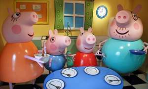 Paultons Park (Includes Peppa Pig World) + 1 night stay in hotel & Breakfast with 2 days tickets from approx  £175 for family of four