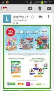 Sale on leapfrog cartridges