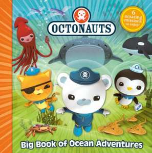 The Octonauts Big Book Of Ocean Adventures - 6 stories in a hardback book RRP £14.99 only £2 at The Book People