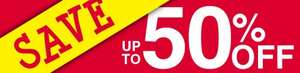 Up to 50% off sale now on @ Baker Ross