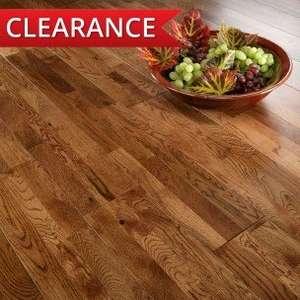 Solid oak floor £20.39 per m2 from UK Flooring Direct