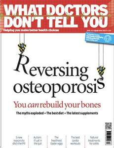 iSUBSCRIBE 'WHAT DOCTORS DONT TELL YOU' MAGAZINE 3 ISSUES FOR £1
