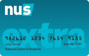 NUS Extra Card for Graduates  £9.99 @ Endsleigh