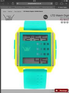 Ltd watch reduced from £39 to £10 with free delivery at shade station