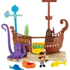 Octonauts Kwazii's Shipwreck Playset £9.99 at Argos