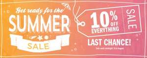 Summer Sale Prices Slashed By An Extra 10% (£2.99 Delivery/Free on £25 or more spend) Prices Start From £0.00 (?!) @ StitchCraftCreate