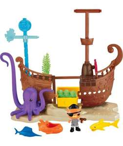 Octonauts Kwazii's Shipwreck Playset, reduced further - now £8.99 at Argos