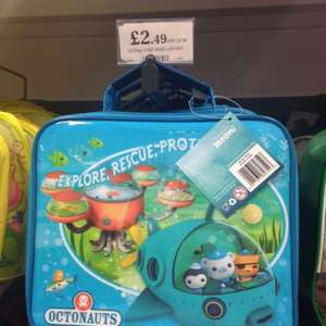 Octonauts lunch bag at home bargains - £2.49