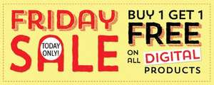 Buy One Get One Free On All Digital Products 1 Day Only @ StitchCraftCreate