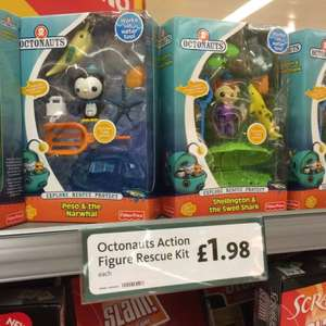 Octonauts toy set at morrisons for £1.98