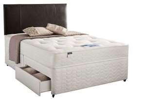 Silentnight Kara Divan Bed, 2 Drawers, King (5') £248.99 Delivered @ Silentnight
