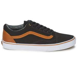 Old skool vans - washed black down to £31.19 plus free delivery @ rubbersole.co.uk