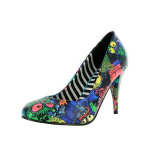 Party Monster Heel shoes ❤ Black @ Iron Fist  reduced from £40 to £8.00 Plus free shipping!