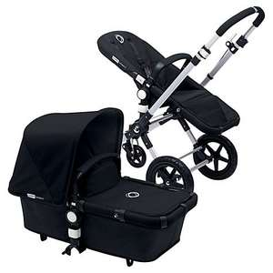 Bugaboo Cameleon3 Pram with 2 Fabric Sets, Loewy/Black @ John Lewis £849 down to £649