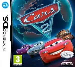 Cars 2 on NINTENDO DS £2.86 plus £2.03 P&P  from Amazon (free delivery £10 spend/prime)