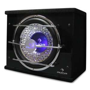"""Auna 12"""" Subwoofer Bassbox 800 Watts with LED Light Effect £64.90 (WAS £103.90) @ hifi-tower  + FREE Delivery"""