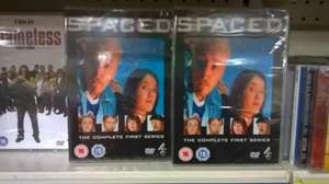 spaced series one dvd and other channel 4 / itv shows £1 poundland