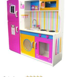 Large wooden girls  play kitchen £55.99 @ big red warehouse