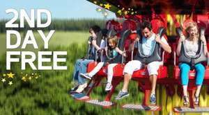 2nd Day Free at Paultons Park - packages from £44pp