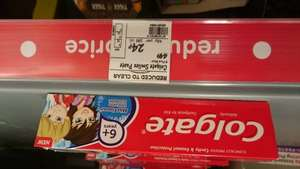 Colgate kids toothpaste 24p @ asda