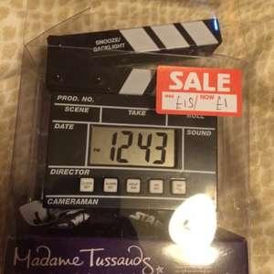 Madame Tussauds Alarm Clock £1 (Was £15 so 93.33% off)