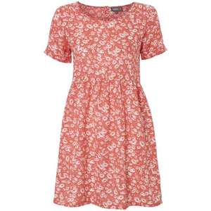Coral tunic dress with white daisy print £5 delivered using code in the Apricot sale