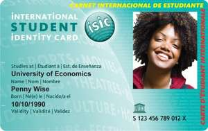 ISIC [International Student Identity Card] for £2 (usually £12) using voucher code STUDENT - STA Travel