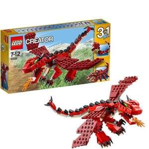 Lego Creator - Red Creatures £9.19 (prime) £13.18 non prime delivered @ Amazon