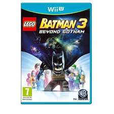 Wii U lego Batman 3, £12.00 free delivery @ Tesco direct