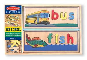 Melissa & Doug See & Spell puzzle £14.15 posted @ Eden