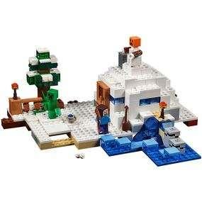 Minecraft Lego: The Snow Hideout £19.99 @ Forbidden Planet