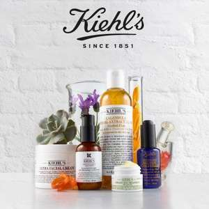 5 deluxe samples & 3 sample sachets free with any Kiehls order (free deliver & no min spend)