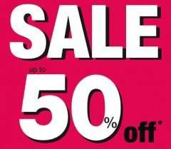 Jane Norman Up to  50% off Sale + Extra 10% using code + FREE C&C