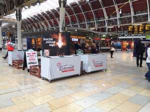 Free Dr Oetker pizzas at Paddington station from 4pm today!