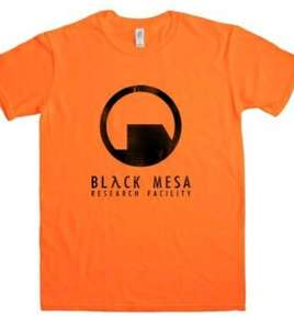 Half Life inspired t-shirts 4 for £22.35 delivered @ 8ball