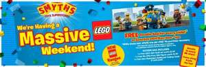 SMYTHS LEGO Weekend Event - Freebies (and offers)? 28th May