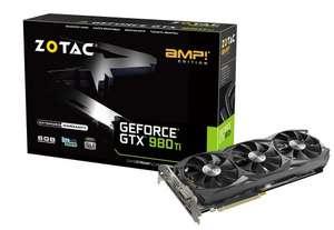 Zotac GeForce GTX 980 Ti AMP 6 GB Graphics Card £344.99 @ Amazon UK