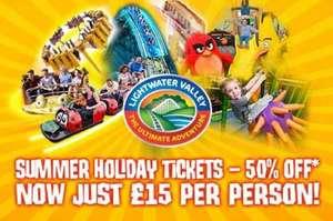 50% off Lightwater Valley tickets