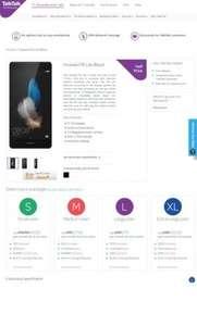 Huawei P8 Lite Black | Talk talk Huawei p9 lite half price line rental 6 months and double data - £262.50 @ TalkTalk Mobile