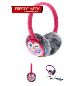 Ear muffs with headphones £1.99 @ Big Pockets