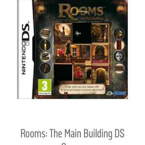 Nintendo DS game Rooms: The main building for £2.49 at Argos