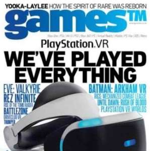 GAMES TM MAGAZINE - 12 Issues (Print) £29.99 at Imagine Publishing