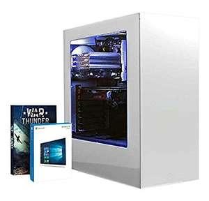 Vibox Pegasus 18 Gaming PC - with Warthunder Game Bundle, Windows 10 (3.6GHz Intel i7 Quad Core Processor, Nvidia Geforce GTX 980 Ti Graphics Card, 240GB Solid State Drive, 3TB Hard Drive, 32GB RAM, NZXT S340 (White) Case Amazon £1003.87