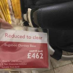 bugaboo donkey mono half price £462 John Lewis - Stratford