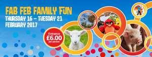 Lightwater Valley. Fab Feb Fun event = £6 per person (+2.50 admin fee per order)