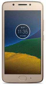 Motorola Moto G5 Sim-free 2GB Gold £154.95 @ Direct Mobiles