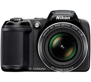 Nikon Coolpix L340 20MP 28x Zoom Bridge Camera £30 OFF £99.99 @ Argos