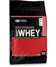 Optimum Nutrition Gold standard whey 4.54kg £71.99 @ Discount supplements